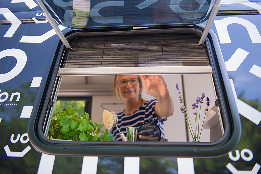 On Tour in the Camper Van by FRANKIA – Comfort & Flexibility Combined