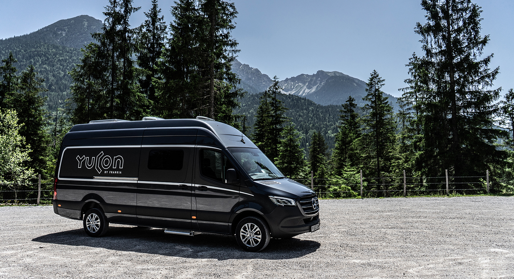 Yucon by FRANKIA Camper Van Flexibility and Comfort. -